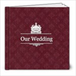 our wedding - 8x8 Photo Book (20 pages)