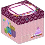 Birthday girl party - Storage Stool 12
