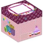 Birthday girl party - Storage Stool 12