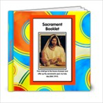 Reverence- Sacrament - 6x6 Photo Book (20 pages)