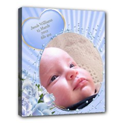 Baby Boy Deluxe 24x20 Stretched Canvas - Deluxe Canvas 24  x 20  (Stretched)