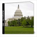 Washington DC 2012 - 8x8 Photo Book (39 pages)