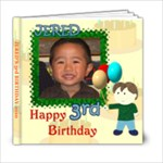 Jered s 3rd birthday - 6x6 Photo Book (20 pages)