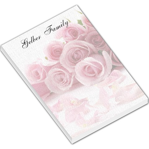 Rose By Esther   Large Memo Pads   Zb14d8uncgo6   Www Artscow Com