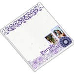 purple - Small Memo Pads