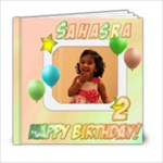 2nd Birthday - 6x6 Photo Book (20 pages)