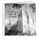 Laura Temple Book - 8x8 Photo Book (20 pages)