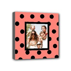 Baby - Polka Dot Family Canvas - Mini Canvas 4  x 4  (Stretched)
