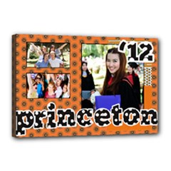 Layout for S  College Graduation 2012 - Canvas 18  x 12  (Stretched)