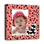 Animal Print Wall Art - Mini Canvas 8  x 8  (Stretched)