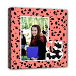 Graduation Animal Print Wall Art - Mini Canvas 8  x 8  (Stretched)