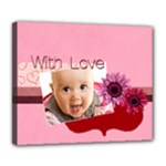 with love - Deluxe Canvas 24  x 20  (Stretched)