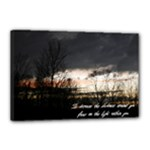12x18 Darkness - Canvas 18  x 12  (Stretched)
