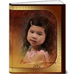 9x12 Deluxe Photobook - Sophia at 4 - 9x12 Deluxe Photo Book (20 pages)