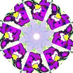 purple flower2 - Folding Umbrella