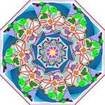 flower1 - Folding Umbrella