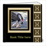 Black and Gold  8x8 Book (20 Pages) - 8x8 Photo Book (20 pages)