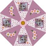 Pink Daisy Medium Hook Handle Umbrella - Hook Handle Umbrella (Medium)