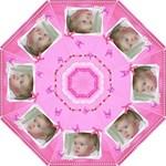 Pink Princess Small Hook Handle Umbrella - Hook Handle Umbrella (Small)