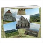 ITALY 2012 - 11 x 8.5 Photo Book(20 pages)