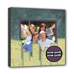 Summer in the City - New York City Wall Art - Mini Canvas 8  x 8  (Stretched)