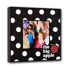 The Big Apple - New York Wall Art Canvas - Mini Canvas 8  x 8  (Stretched)