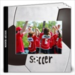 Soccer/Football 8x8 Deluxe Photo Book - 12x12 Photo Book (20 pages)