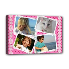 My Friends Deluxe 18x12 Stretched Canvas - Deluxe Canvas 18  x 12  (Stretched)
