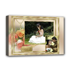 Our Moments Deluxe 18x12 Stretched Canvas - Deluxe Canvas 18  x 12  (Stretched)