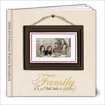 Simpson Family 2008-2009  - 8x8 Photo Book (20 pages)