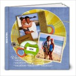 8x8 Photo book (30 pages) Family Vacation/Travel