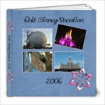 Our Disney Vacation - 8x8 Photo Book (39 pages)