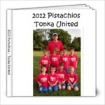 2012 Pistachios - 8x8 Photo Book (20 pages)
