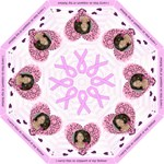 Breast Cancer Umbrella - Folding Umbrella