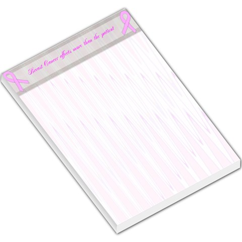 Breast Cancer Awareness Large Memo Pad By Kim Blair   Large Memo Pads   K5tdichz9ln6   Www Artscow Com