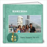 Family Singapore Trip 2010 - 8x8 Photo Book (20 pages)