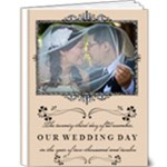 Our Wedding Day - 9x12 Deluxe Photo Book (20 pages)