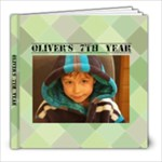 Oliver 7th Year - 8x8 Photo Book (20 pages)
