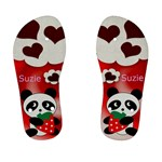 Panda Bear Kids flip flops - Kid s Flip Flops