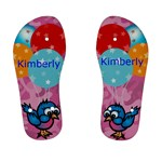 cute bird aqn balloon kids flip flops - Kid s Flip Flops
