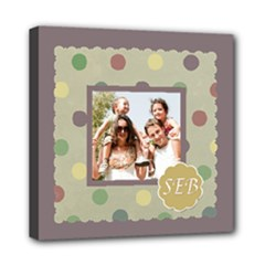 Monogram Wall Canvas - Mini Canvas 8  x 8  (Stretched)