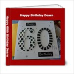 Dearn Bday - 6x6 Photo Book (20 pages)
