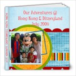HK Disneyland - 8x8 Photo Book (80 pages)