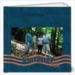 Blue and Orange Summer 2 july 19 - 12x12 Photo Book (20 pages)