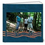 Blue and Orange Summer 2 july 20 - 8x8 Deluxe Photo Book (20 pages)