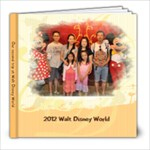 2012 Disney - 8x8 Photo Book (60 pages)