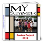 Boston Project 2012 - 8x8 Photo Book (30 pages)