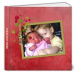 Shabby Rose - 8x8 Deluxe Photo Book (20pgs) - 8x8 Deluxe Photo Book (20 pages)