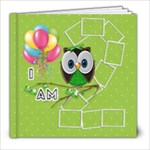 Whoo s turning 2 work on book - 8x8 Photo Book (20 pages)