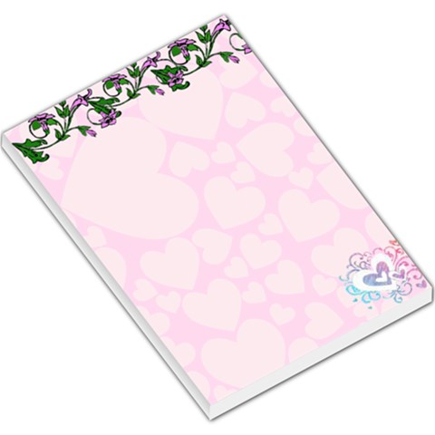 Morning Glory Memo Pad By Suzie